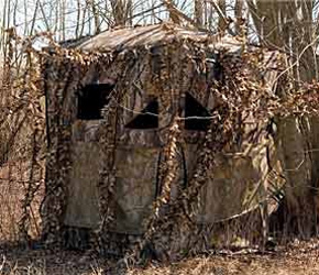 ground down a and build blind how blinds for deer youtube hunting to watch dirty