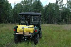 ATV for food plots