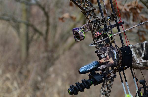 Epic Cam mounted on bow