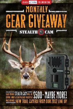 Win Free Stealth Cam Gear!