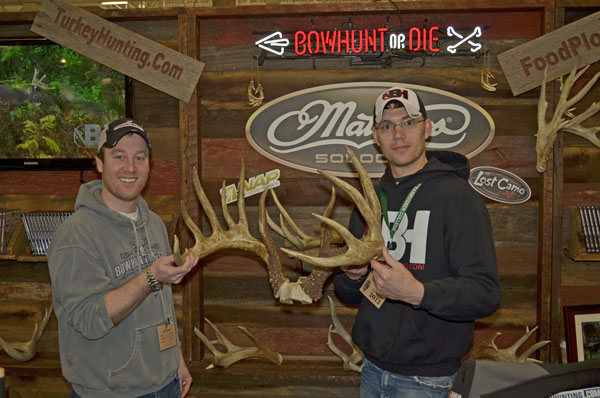 Johnny King Buck at WI Deer Expo
