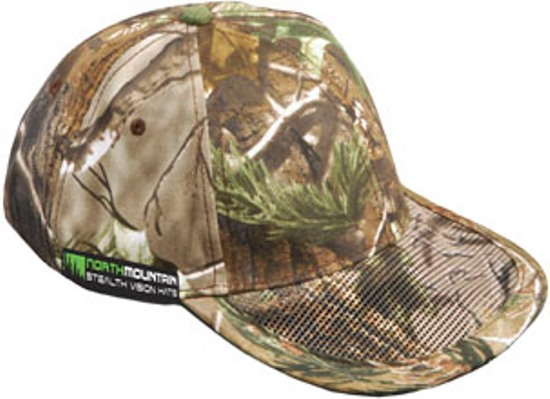camo hat with mesh bill