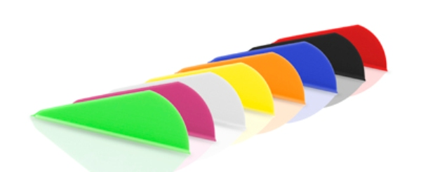 vanes in assorted colors