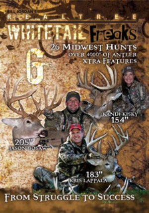 whitetail freaks 6 dvd