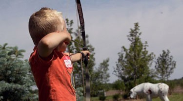 Teaching Kids Archery